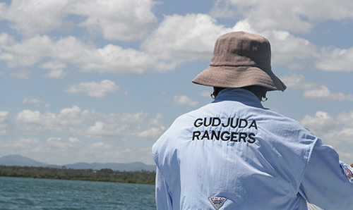 Gudjuda land and sea rangers